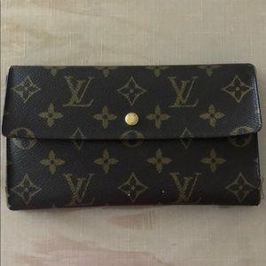 Authentic Vintage Louis Vuitton Wallet